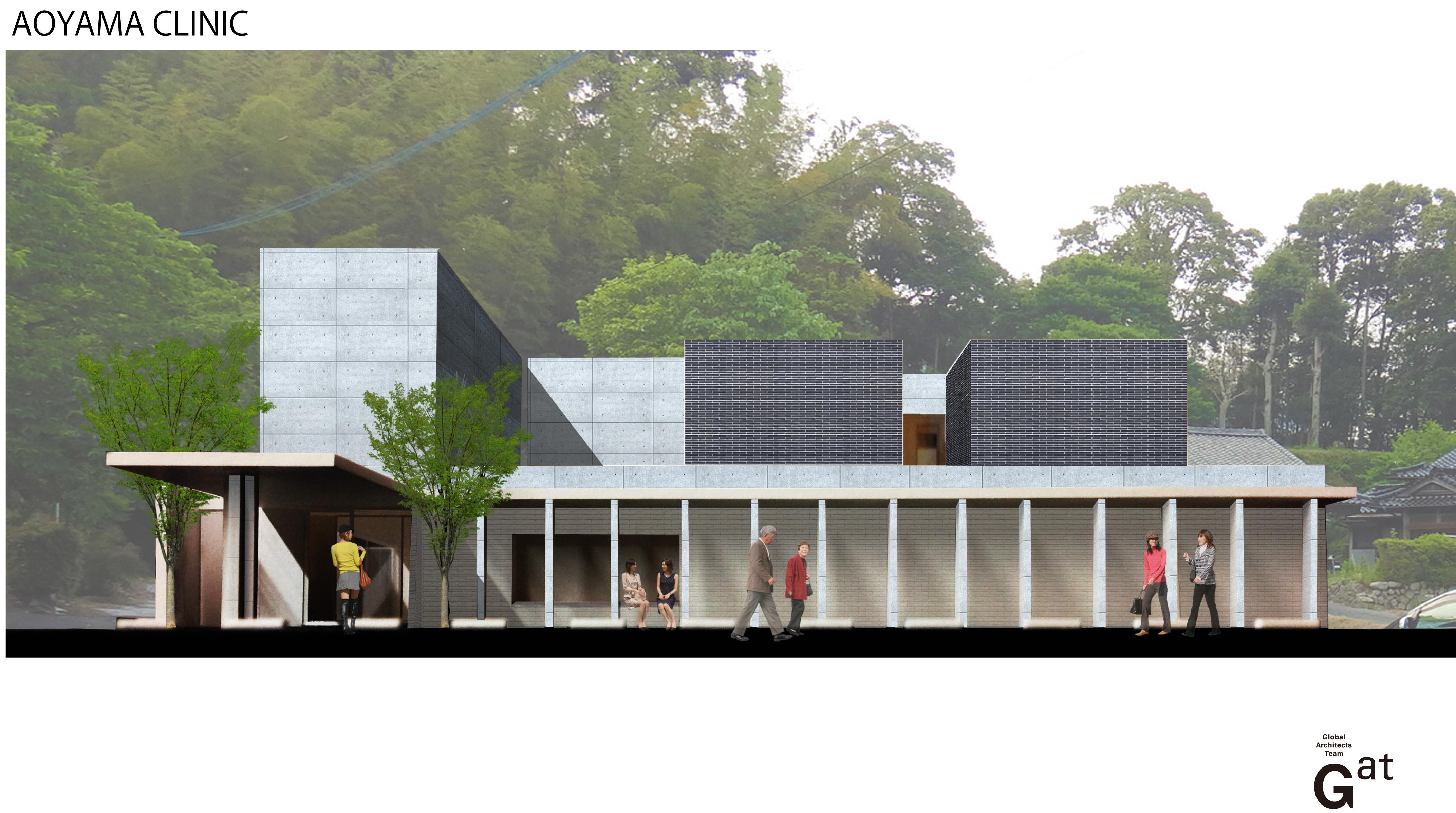 青山医院 模型写真3